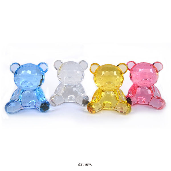 ACRYLIC DIAMOND CUT BEAR BIG