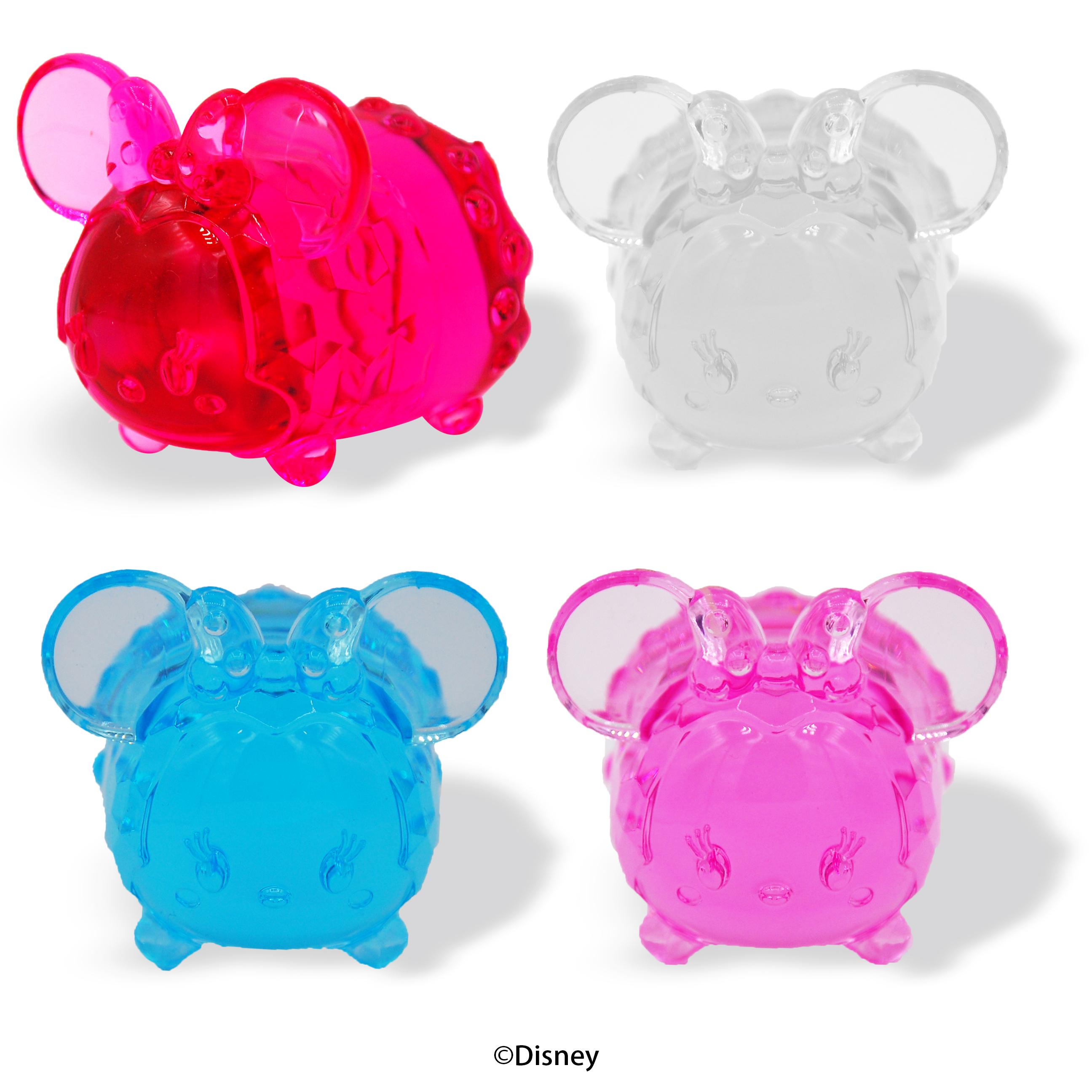 Acrylic Diamond Cut Minnie BIG Tsum Tsum