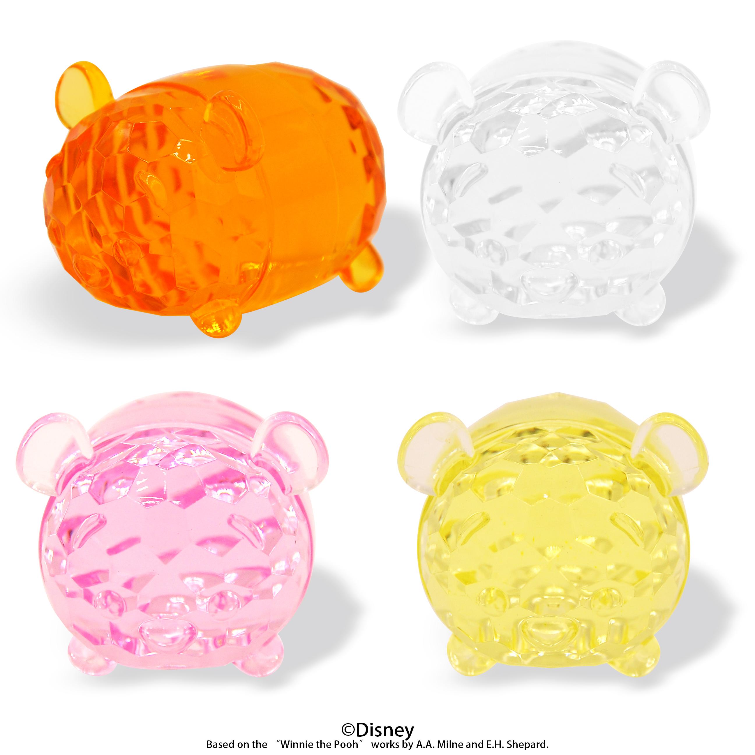 Acrylic Diamond Cut Pooh BIG Tsum Tsum