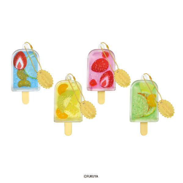 Fruits in ice charm