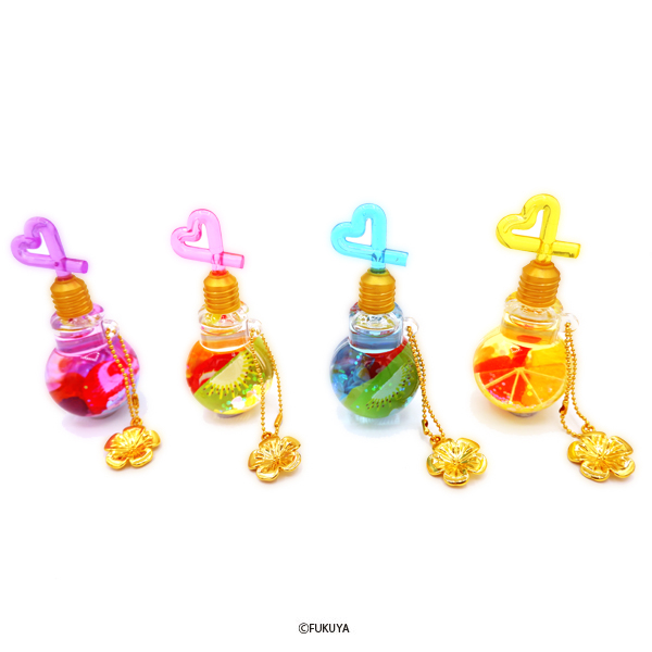 Light bulb juice oil charm 2